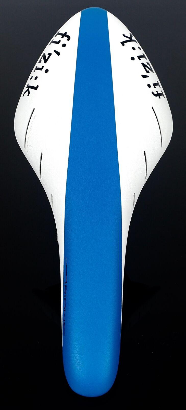 FI'ZI K Fizik Arione R3 Kium  7 mm Rail Road Saddle, Azul blancoo Nuevo