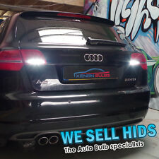 AUDI A3  x2 REVERSE LED LIGHTS  UPGRADE XENON WHITE T15  W16W 921  15 SMD CANBUS
