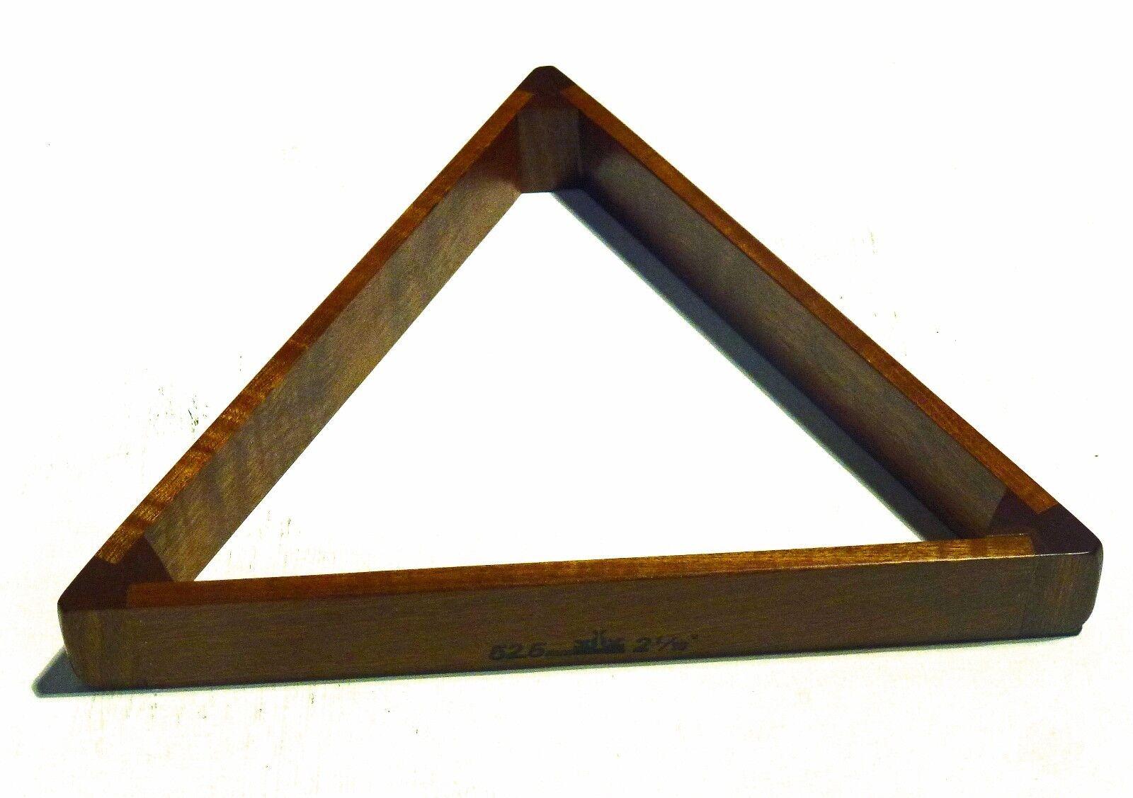 Peradon Englisch hergestellt massiv Mahagoni 2 0.2cm Dreieck für Lebensgroß Lebensgroß Lebensgroß b865f4
