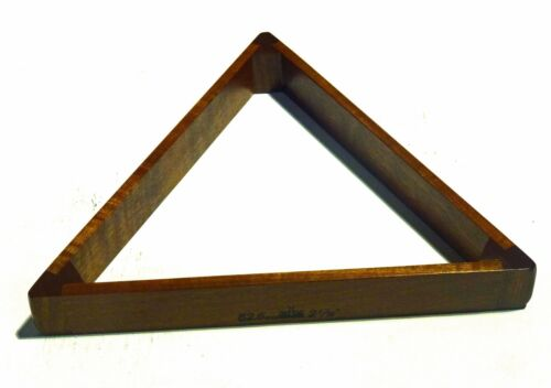 """PERADON ENGLISH MADE SOLID MAHOGANY 2 1//16/"""" TRIANGLE FOR FULL SIZE SNOOKER"""