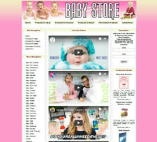 New Baby Store Shop Online Business Website For Sale Amazongoogle Adsense