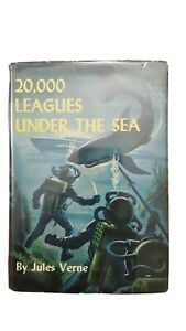 JULES VERNE 20,000 Leagues Under The Sea Book Grosset & Dunlap