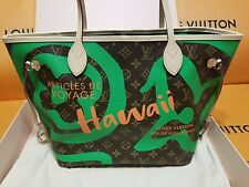 Louis Vuitton Neverfull MM Monogram Hawaii Limited with Pouch Exclusive