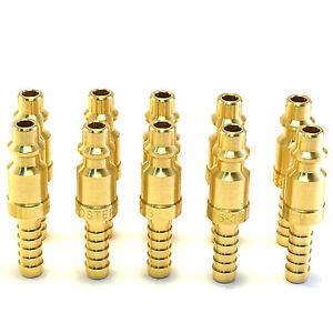 10-1-4-034-Brass-Hose-Barb-Stem-Pneumatic-Air-Compressor-Quick-Connect-Fitting-Plug