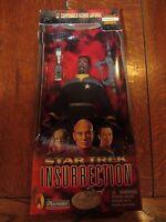 "Playmates Star Trek Insurrection! Lt. Commander Geordi Laforge, Classic Edition, 9"" Poseable Action Figure In Cloth Starfleet Uniform Toys"