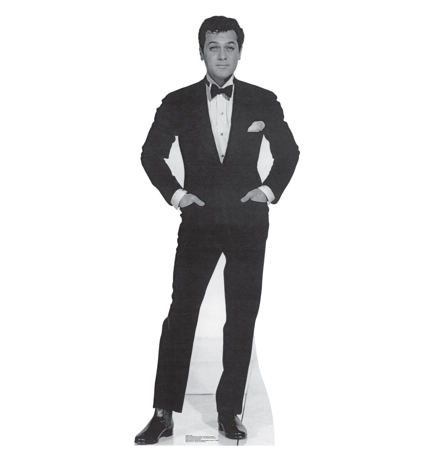 Tony Curtis Hollywood Film Star Cardboard Cutout Standup. Great for Parties