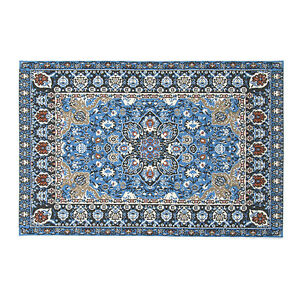1-Blue-Starry-Night-Carpet-1-12-Dollhouse-Miniature-Toys-House-Decor