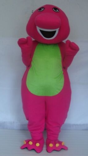 Barney Bear Mascot Costumes Parade Outfit Fancy Dress Adult Unisex Cosplay Suits