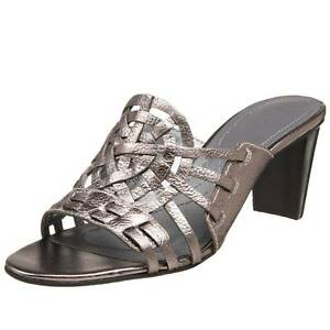 Vaneli NEW Babe Braun Damenschuhe Schuhes Größe 8.5 Babe NEW Open Toe Leder Heel bf5fe6
