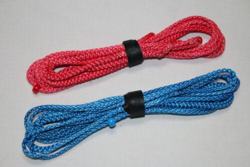 USA Amsteel 8ft Ultralight Whoopie Slings Red//Blue Hammock Suspension