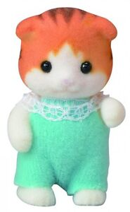 Epoch-Calico-Critters-Sylvanian-Families-Maple-Baby-Doll-NI-101-Japan-import