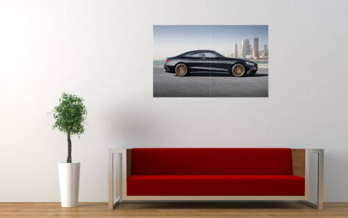 """MERCEDES BENZ S63 AMG BRABUS SIDE PRINT WALL POSTER PICTURE 33.1/"""" x 20.7/"""""""