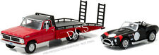 GREENLIGHT 1970 FORD F-350 RAMP TRUCK AND SHELBY COBRA 427 1/64 DIECAST 33080-B