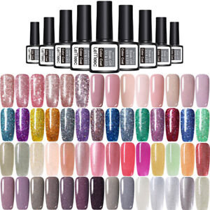 LEMOOC-8ml-Gel-Polish-Holographic-Colorful-Soak-Off-UV-LED-Nail-Art-Gel-Varnish