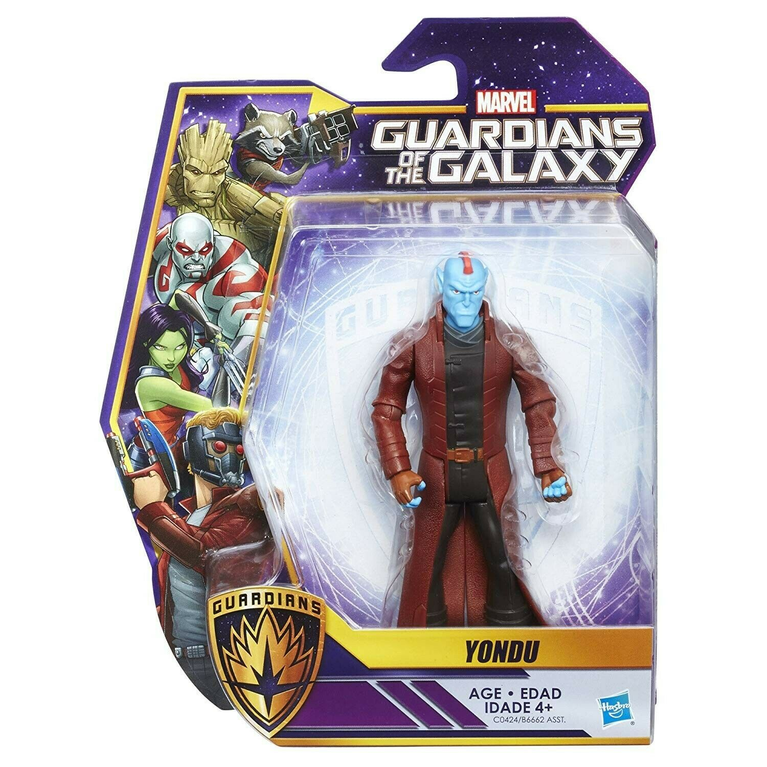 Marvel Guardians Of The der Guardians Of The Galaxy Wirkung Figure Yondu Hasbro