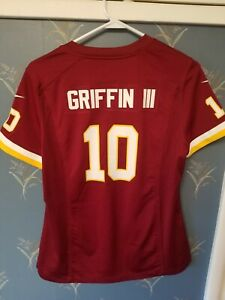 Nike-Washington-Redskins-OnField-Jersey-10-RG3-RGIII-Robert-Griffin-Youth-Large