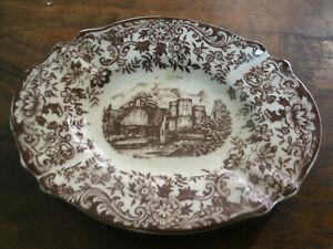 Posacenere-Ceramica-Inglese-OLD-BRITAIN-CASTLES-AUR-9x12-cm