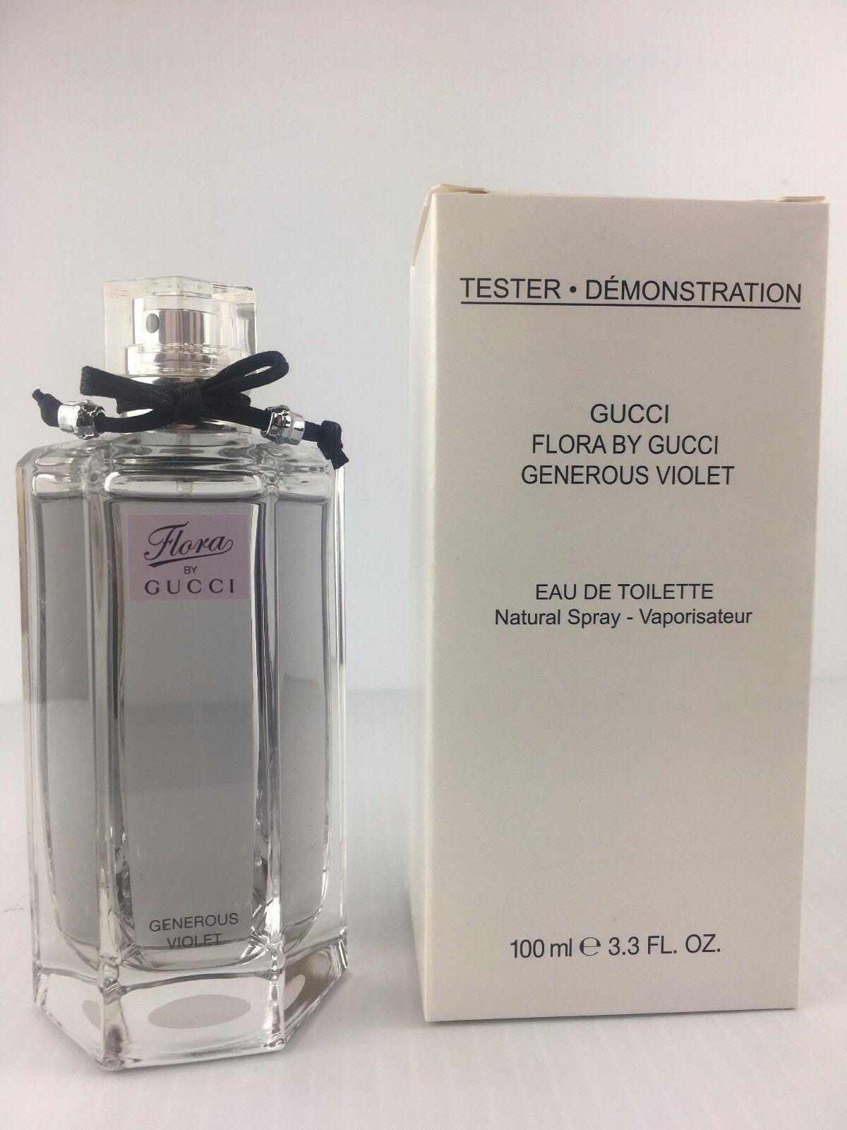 66cc36e3e76 Gucci Flora Generous Violet Women Perfume 3.3 Oz EDT Spray W cap as SHOWN  for sale online