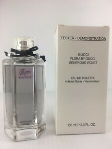 cd0bf4aedc9 GUCCI FLORA GENEROUS VIOLET Women Perfume 3.3 OZ EDT Spray NEW W CAP ...