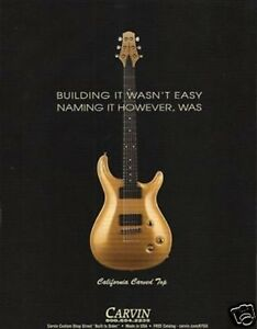 2005-PRINT-AD-FOR-Carvin-California-Carved-Top-Guitar