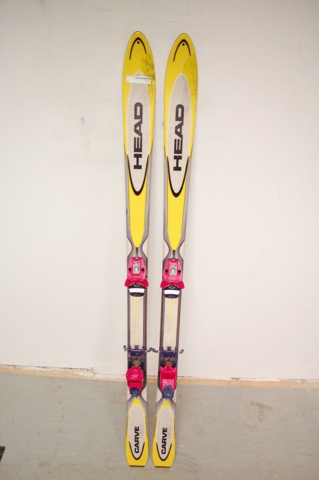 HEAD Carve Team  150 cm Ski + Tyrolia 6 Bindings  leisure
