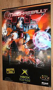 MechAssault-very-rare-Promo-Poster-84x59-5cm-Xbox
