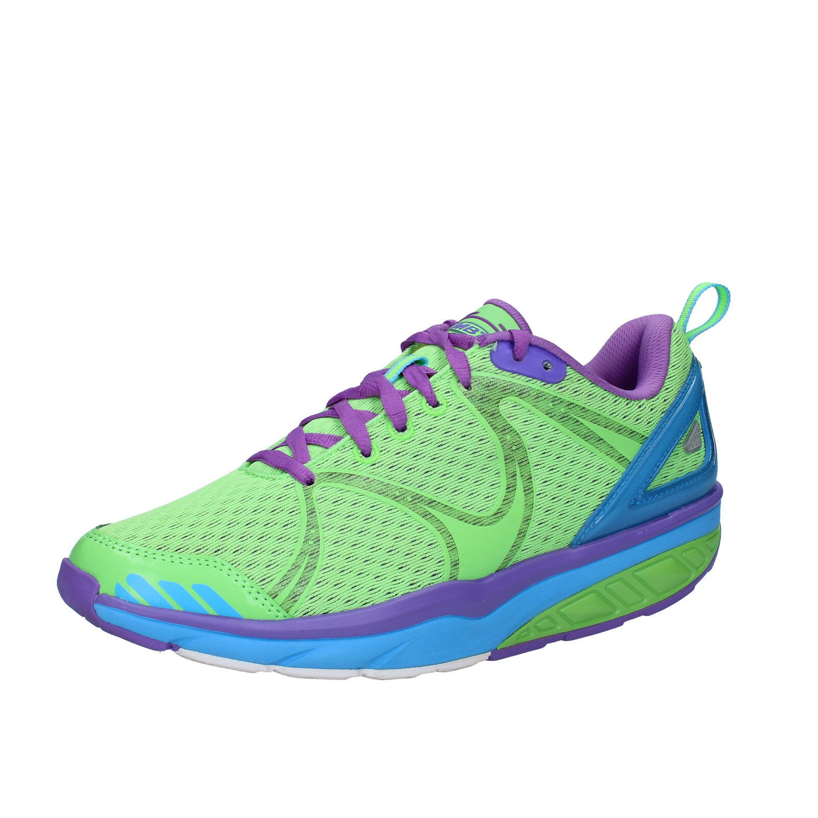 Femme   chaussures  MBT AFIYA 3,5 (EU 36) sneakers Vert textile dynamic AC494-36