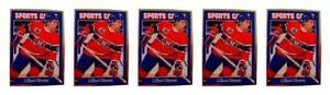 (5) 1992 Sports Cards #121 Gilbert Dionne Hockey Card Lot Montreal Canadiens