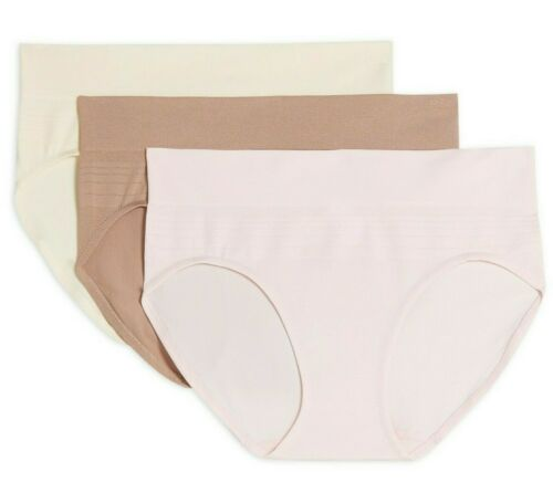 Warner/'s Women/'s No Muffin Top Seamless Brief Panties 3-Pack 2XL