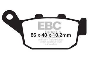 Para-Honda-CB-500-X-Doble-sin-ABS-14-gt-15-EBC-Sinterizadas-Pastillas-de