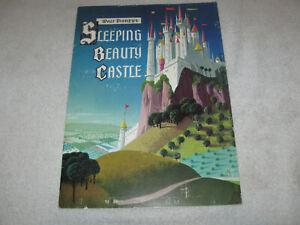 WALT DISNEY'S SLEEPING BEAUTY CASTLE SOFTBOUND BOOK 6 PG 1957 ART DISNEYLAND