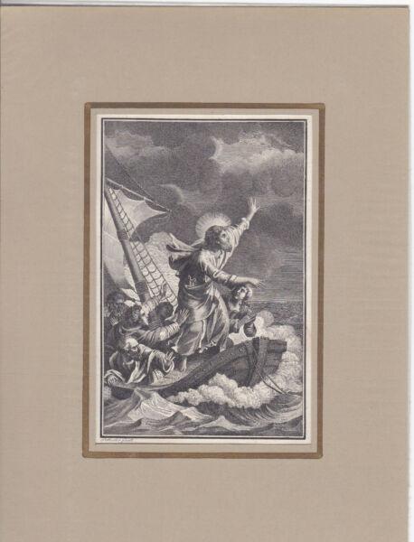 """""""jesus Gebietet Den Stürmen Und Dem Meer"""" Kst. Von Schuler Bei Herder 1790 Kaufe Jetzt"""