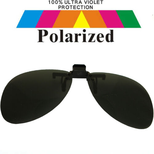 Clip sur specs noir voiture pêche polarisées polarisé lunettes de soleil CO11-1 s
