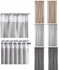 Ikea Fertiggardine 145x300 cm Langstore Gardinen Stores Vorhang
