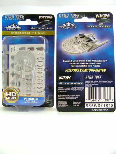 Miranda Class Deep Cuts Unpainted Miniatures WZK73586 Star Trek Attack Wing