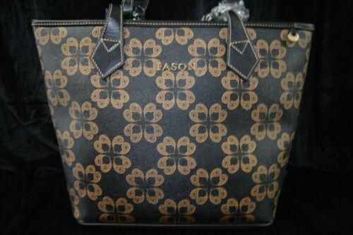 rrp £180 RED Ladies Designer Fason Quilted Tote Shoulder Bag /& FREE  Purse