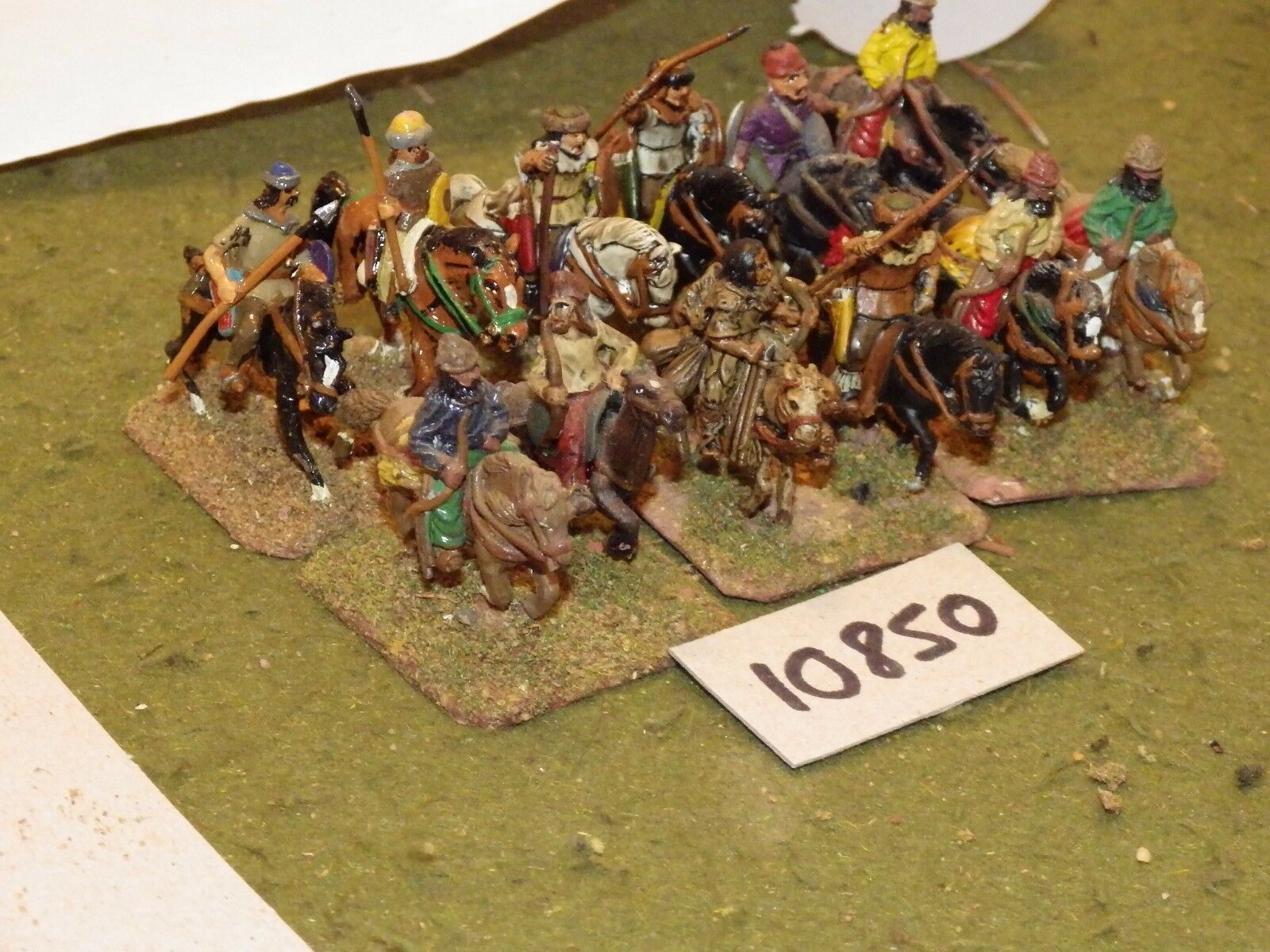 25mm dark ages   hun - cavalry 12 cavalry - cav (10850)