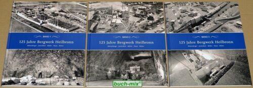 125 Jahre Bergwerk Heilbronn - 3 Bände im Pappschuber - SELTEN!