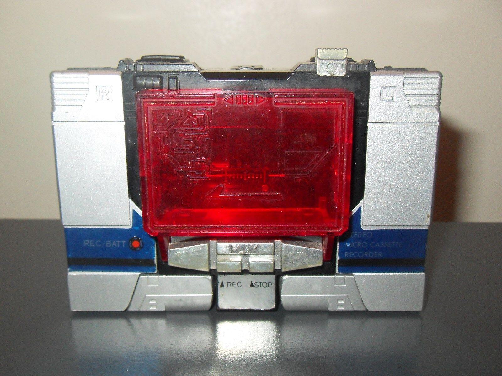 al precio mas bajo Transformers Transformers Transformers g1 Original Vintage Soundblaster Negro Soundwave  caliente