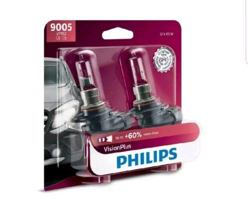 Headlight Bulb-VisionPlus Twin Blister Pack Philips 9005VPB2 UPC:46677717490