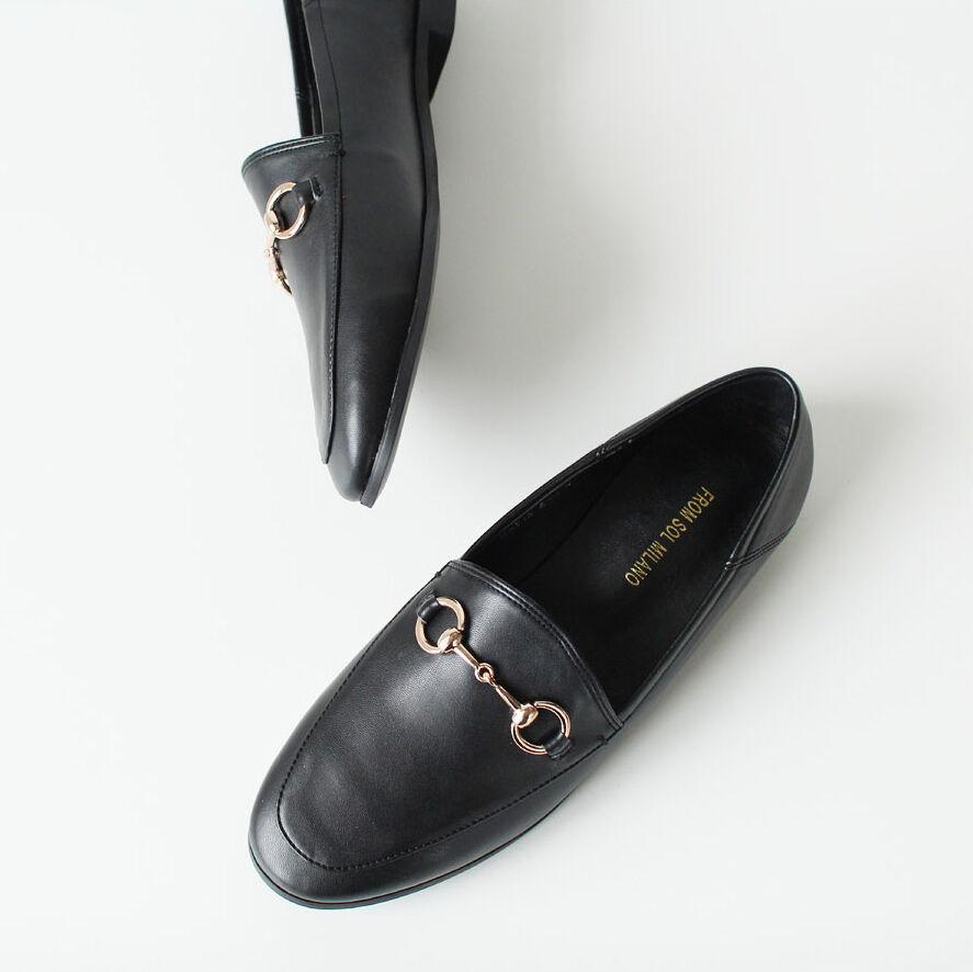 risparmia fino al 30-50% di sconto New Donna  Horsebit Detailed Princetown Synthetic Leather Leather Leather Classic Loafers  ti aspetto