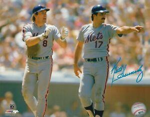 KEITH HERNANDEZ  NEW YORK METS HAND SIGNED MLB Photofile 8x10 w/ Gary Carter