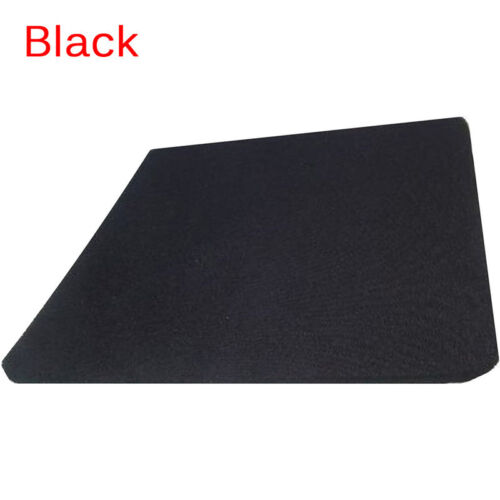 Fabric Mouse Mat Pad Blank Mouse Pad 5mm Thick Non Slip Foam 25cm x 21cm EJB