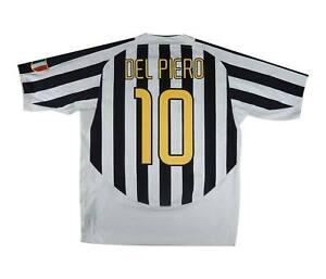 JUVENTUS 2003-04 Authentic Home Shirt DEL PIERO #10 (eccellente) XL soccer jersey