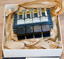 Vintage 60s Nos Switchcraft 35047 Multi Switch Frame