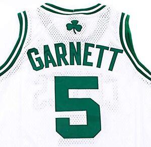 Image is loading NBA-Boston-Celtics-Kevin-Garnett-White-Adidas-Home- 62b43f509