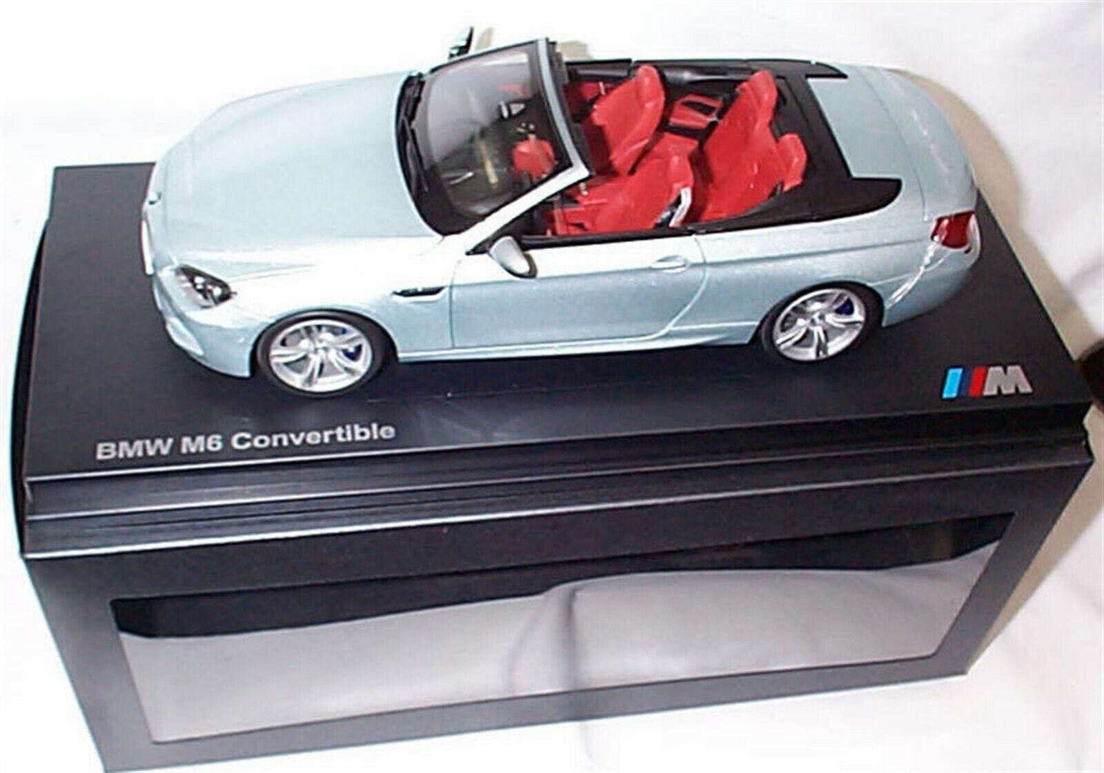 precios bajos todos los dias BMW M6 Converdeible F12 platastone platastone platastone II 1 18 escala piezas nuevas de apertura  Seleccione de las marcas más nuevas como