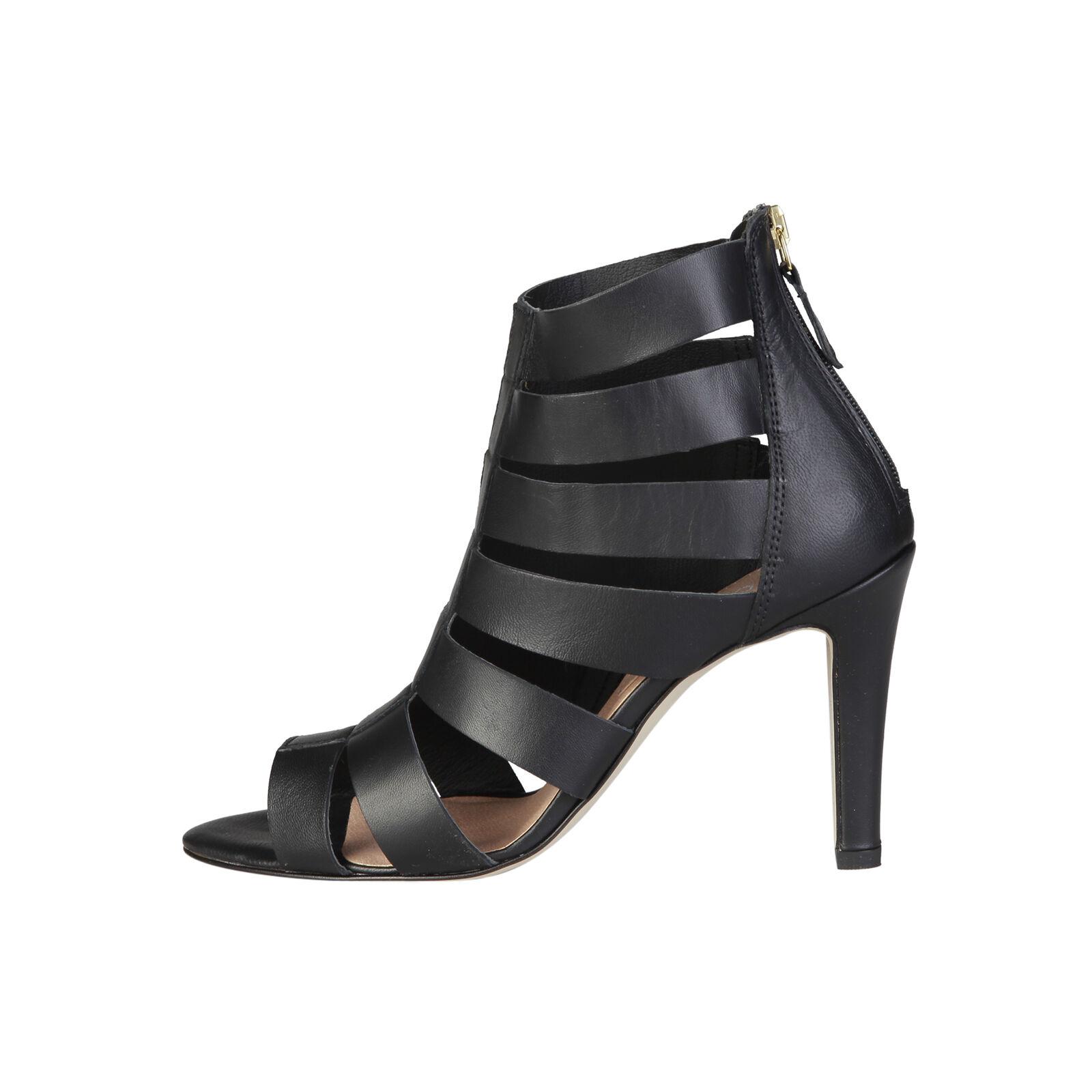 Pierre Cardin Damen Schuhe Sandaletten High Heels Stilettos Echtleder Gr. 37 NEU