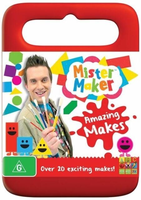 Mister Maker - Amazing Makes DVD - Region 4 *FREE POST*