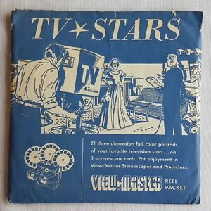Viewmaster-TV-Stars-3D-Reels-Sawyers-1955-View-Master-Reels-745-746-747